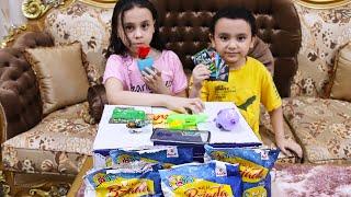 مريومة فتحنا كرتونة بزيادة وهدايا ومفاجأت! bziada toys surprise