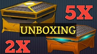 SHADOW FIGHT 3 | 2 LEGENDARY & 5 EPIC CHESTS OPENING | CHAPTER 4 HERALDS!!