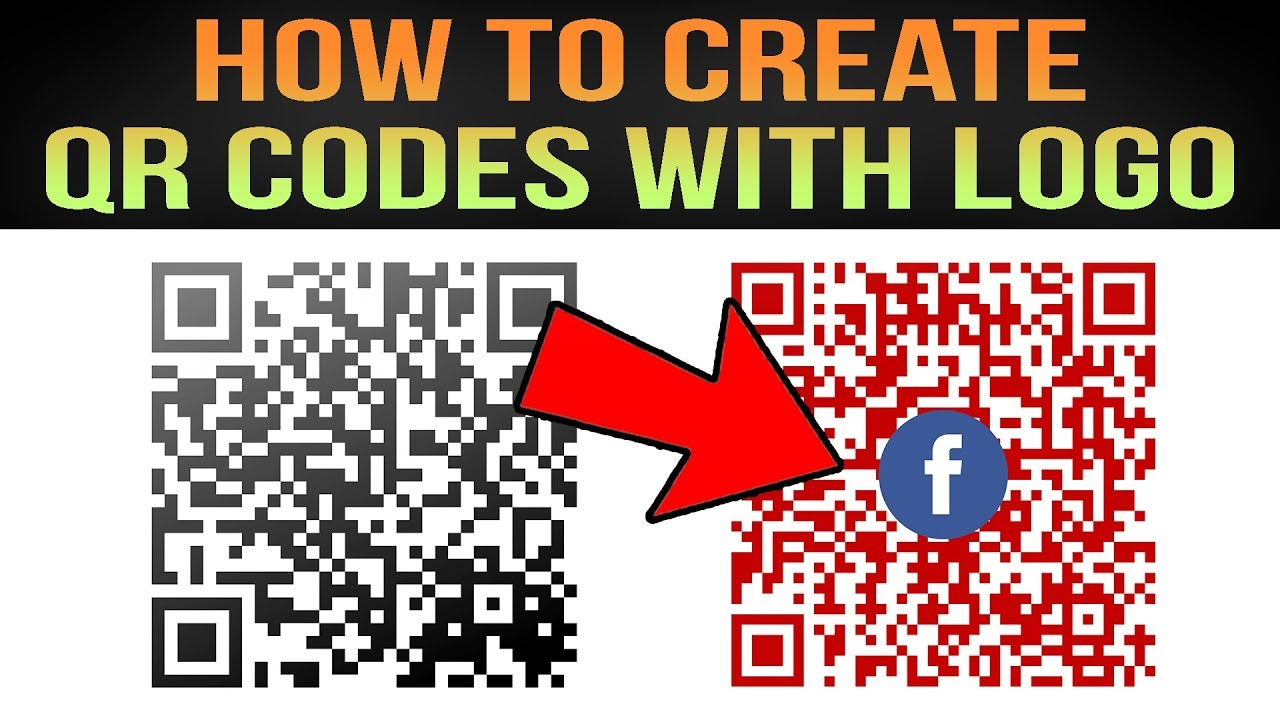 How To Create QR CODES + QR CODES With LOGO
