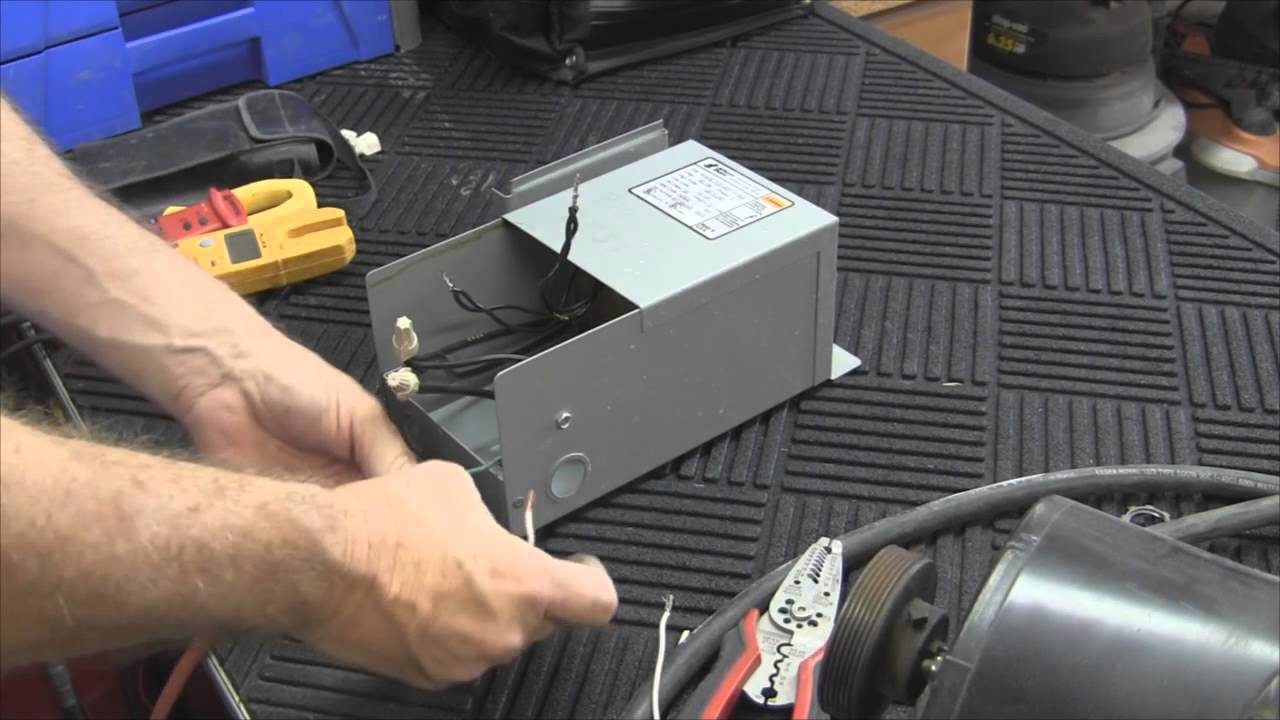 how to wire a buck boost transformer youtubehow to wire a buck boost transformer