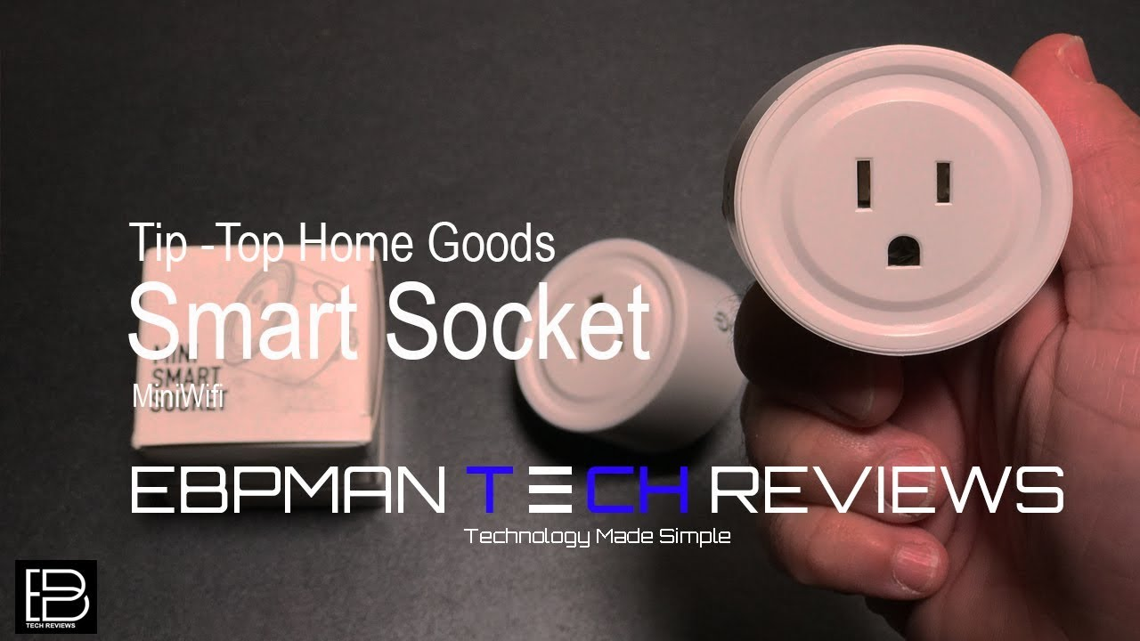 Automate your home with this $20 Mini Smart Socket from Tip-Top Home Goods