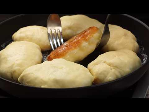 Пирожки с картошкой жареные на сковороде - вкусный домашний рецепт