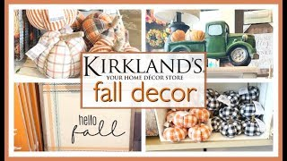 KIRKLANDS FALL DECOR 2019 | SHOP WITH ME & HAUL