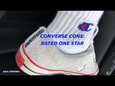 Rated One Star Converse Cons