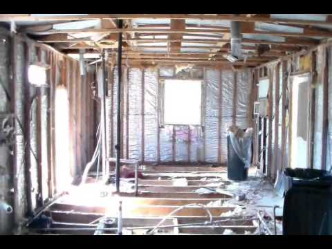 Mobile Home Renovation Days 2 and 3  YouTube