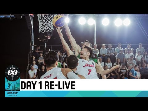 Live 🔴 - FIBA 3x3 Asia Cup 2018 - Day 1 - Pool Phase (1/2)