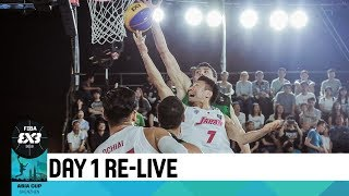 FIBA 3x3 Asia Cup 2018 - Day 1 - Pool Phase (1/2)