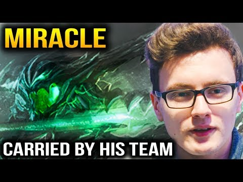 Miracle OD Carried By His Teammate in 2 Games Dota 2 thumbnail