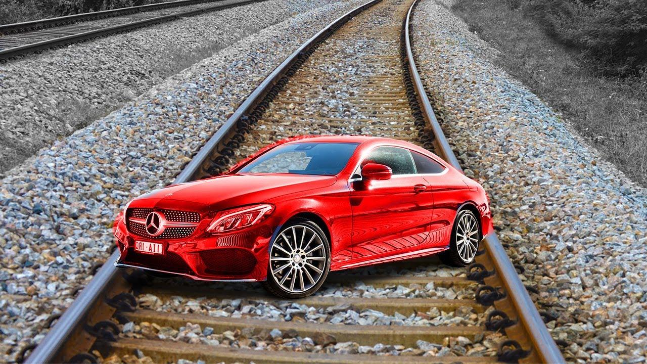Train Vs Mercedes Benz Car Test