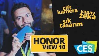 Honor View 10 ön inceleme CES 2018'den ilk ön inceleme!