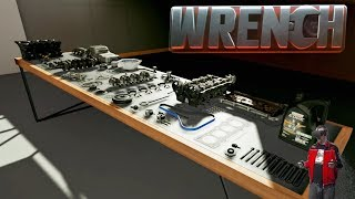 WRENCH | Engine Building Simulator in VR !