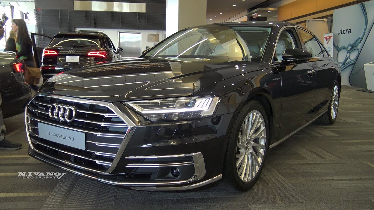 2019 Audi A8l Exterior And Interior Walkaround Youtube