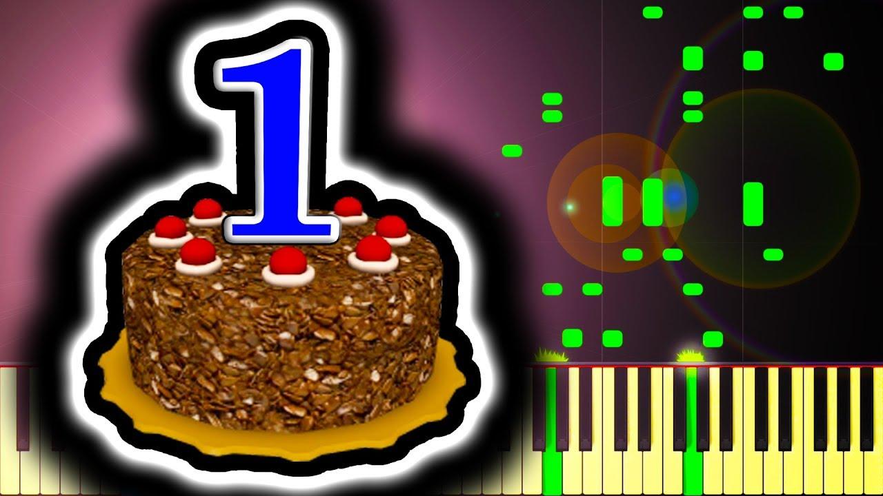 Happy Birthday Sheet Music Boss Turns One Youtube