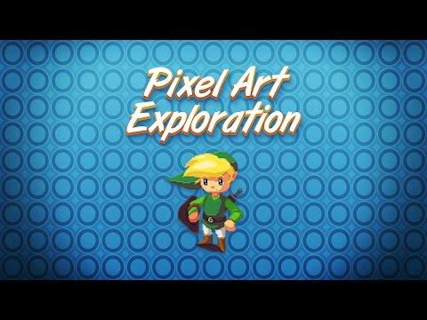 6 Pixel Art Drawing Techniques