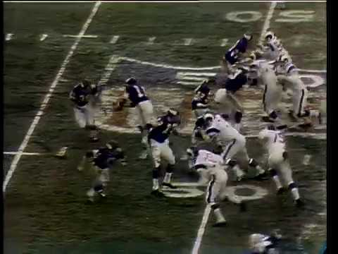 1969 NFL playoffs: Los Angeles Rams vs Minnesota Vikings (rare videotape highlights)