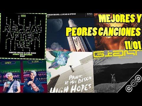 Canciones de la Semana: 11/01 (Calvin Harris, Tiësto, KAAZE, Grey, W&W y más) Mp3