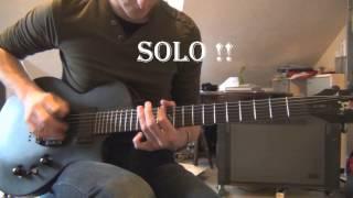 Sum 41 - WWVII (Intro+Solo) [COVER]