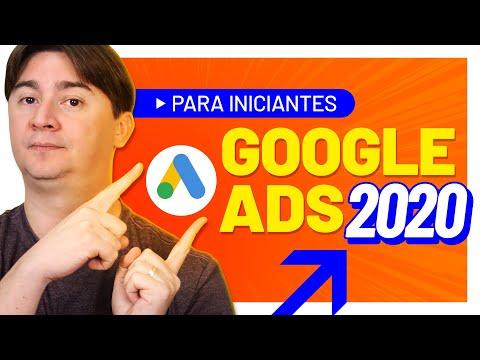COMO ANUNCIAR NO GOOGLE ADS 2020 - TUTORIAL PASSO A PASSO PARA INICIANTES