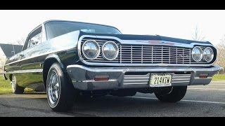 1964 Chevy Impala transformation base coat clear coat ppg black