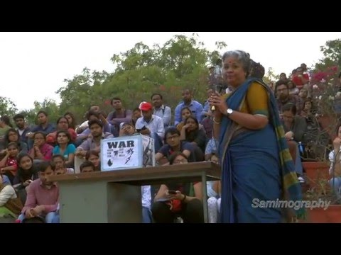 Prof. Mangai's Full Speech at JNU Alternative Classroom on Tamil Nationalism
