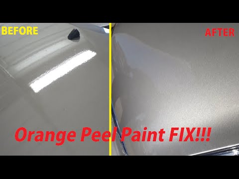 Blending Paint Lines On Car