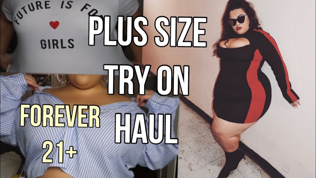 3a2c1ba1606 FOREVER 21 PLUS SIZE TRY ON HAUL♡♡