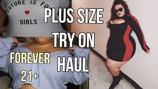 FOREVER 21 PLUS SIZE TRY ON HAUL♡♡ |GABRIELLAGLAMOUR