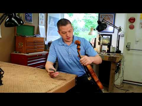 How to clean violin strings and fingerboard with steel wool.