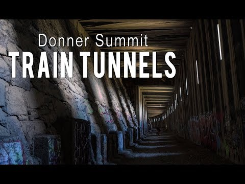 Exploring The Donner Summit Train Tunnels In Truckee