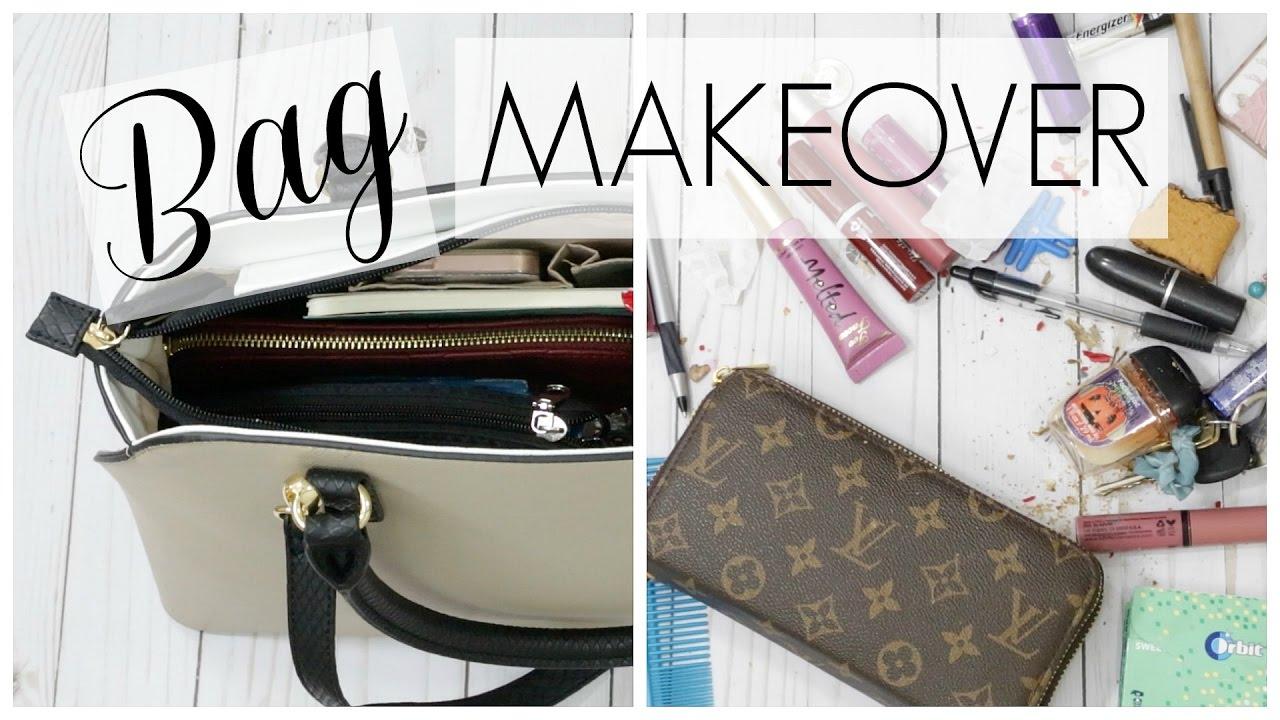 Bag Makeover Purse Organization Tips