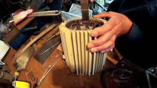 単相誘導モーター分解 Disassemble single phase induction motor