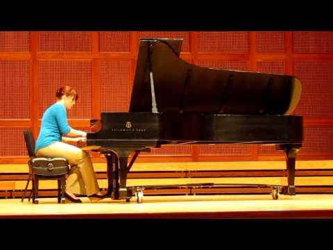 Jacqueline Sager, Arabesque, Claude Debussy, Piano