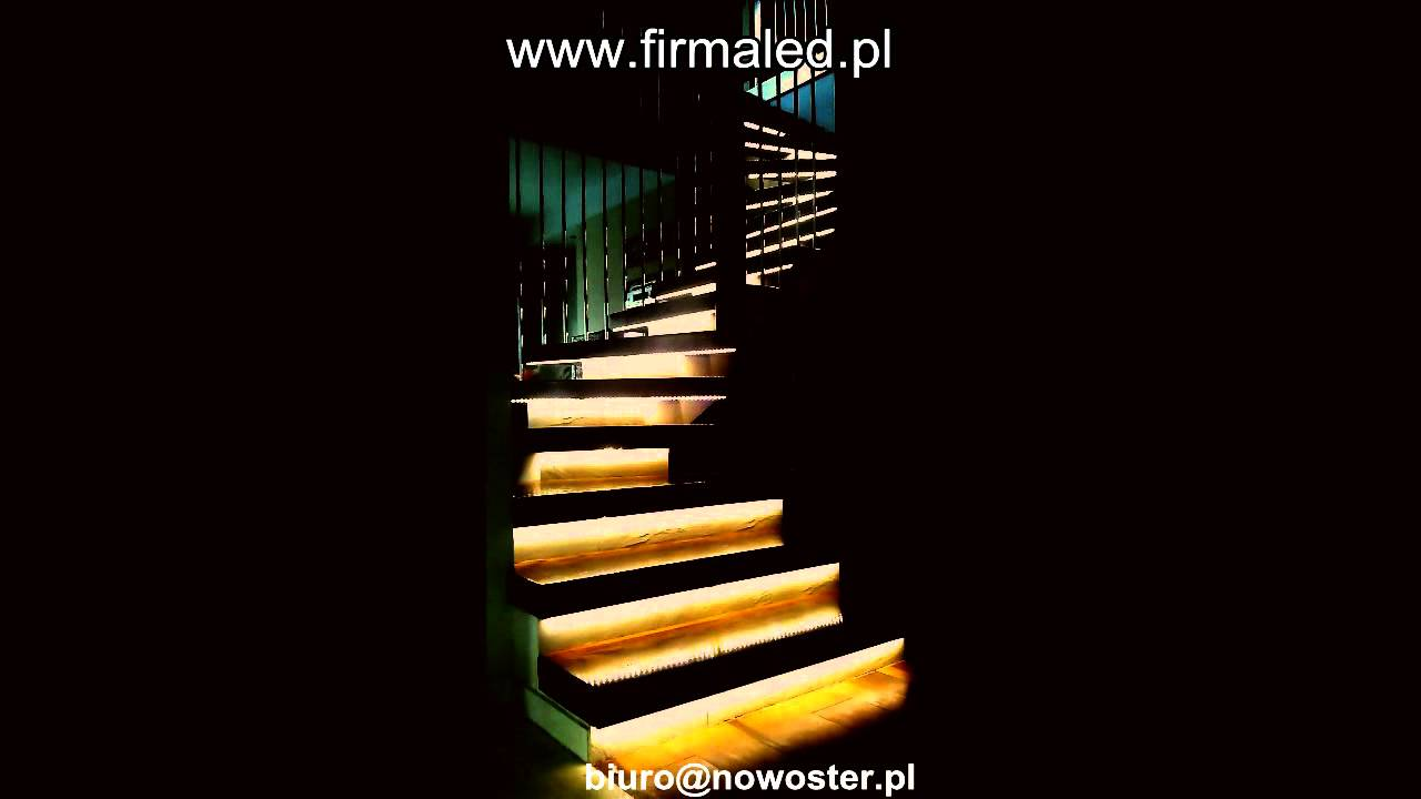 Lighting Basement Washroom Stairs: Lighting Up The LED Strip Lighting Stair Treads From Top