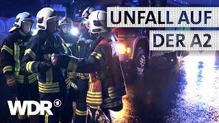 Feuer & Flamme | Verkehrsunfall auf der Autobahn | WDR