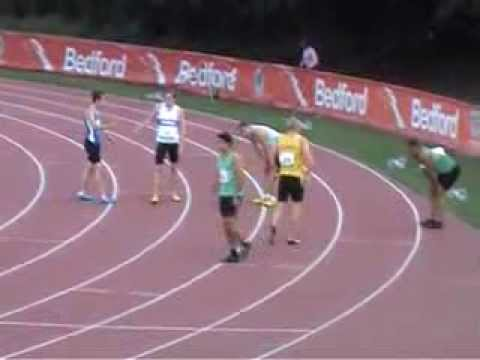 2013 UK CAU Inter county Championships 200m Heat 2