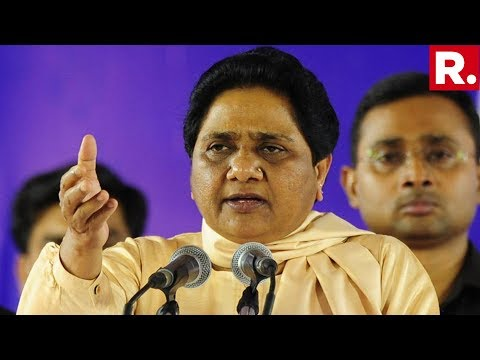 BSP Supremo Mayawati Addresses Public Rally In Mirzapur, Uttar Pradesh