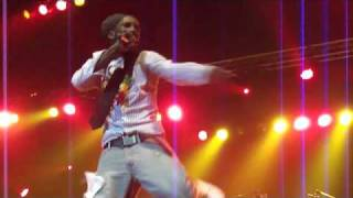 SIZZLA Be strong Dry Cry Give me a try Take Myself Away LIVE PT 5 AMSTERDAM REGGAE FEST 2010