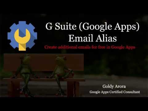 Google Apps Email Alias - Create free multiple emails in G Suite
