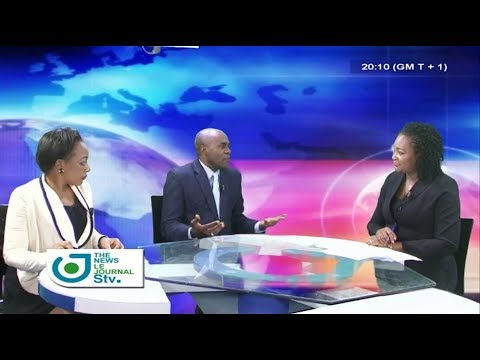 STV WEEKEND BILINGUAL NEWS 08:00 PM - (Invité : Olivier BILÉ