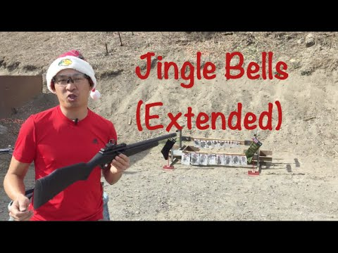 Jingle Bells (Extended) Dashing Through The Snow: .22LR Edition | Musical Targets™