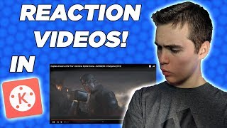 How To Make Reaction Videos In Kinemaster