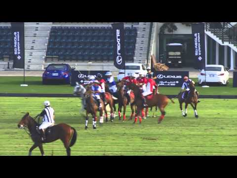 Ghantoot VS Bin Drai in the Emirates Open Polo Championship 2015