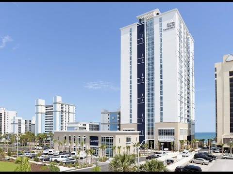 Hilton Grand Vacation Club Construction Timelapse