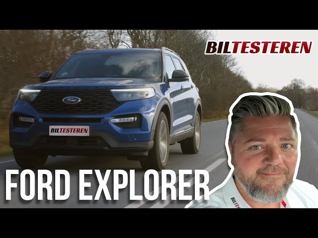 Ford Explorer plug-in hybrid er stor, fed og udadtil politisk korrekt, men....