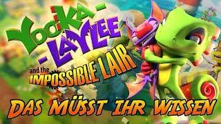Yooka-Laylee and the Impossible Lair wird bald erste #Test s erhalten. In unserer ausführlichen #Vorschau zeigen wir euch einen ersten Eindruck des Titels und ordnen für euch ein, was ihr von dem neuesten Titel von den Playtonic Games in Sachen Gameplay und Story erwarten dürft. Außerdem haben wir mit dem Designer Hamish Lockwood über das als Yooka-Laylee 2 gestartete Projekt gesprochen und seine Eindrücke in das Video mit eingearbeitet.  #YookaLaylee2   EDIT: Nachdem ich das Video spätnachts noch geschnitten habe, hat sich blöderweise ein Fehler eingeschlichen. Menge schreibt man selbstverständlich groß! Ich bitte hier um Nachsicht, es soll nicht mehr vorkommen. :-)