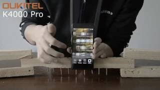 Противоударный смартфон OukiTel K4000 PRO 5 забивает гвозди!(Тестирование мобильного телефона OukiTel K4000 PRO. Смартфон забивает гвозди и экран не бьется и не царапается!..., 2016-07-31T11:29:46.000Z)