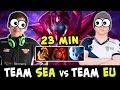 SEA stars vs EU stars — WTF Spectre farm 11 min Battle Fury