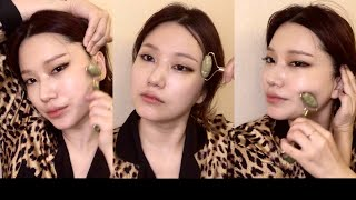 CC) HOW TO USE JADE ROLLER, 페…