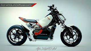 Honda Riding Assist - Honda's Self Balancing Motorcycle / Honda Concept Bike