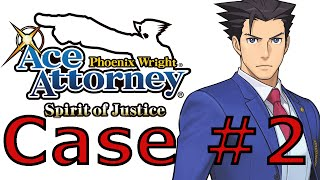 Phoenix Wright Ace Attorney Spirit Of Justice - The Magical Turnabout Case #2